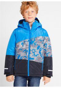 Niebieska kurtka bonprix moro, na zimę
