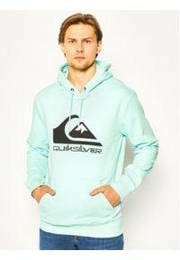 Quiksilver Bluza Comp Logo EQYFT04089 Zielony Regular Fit. Kolor: zielony