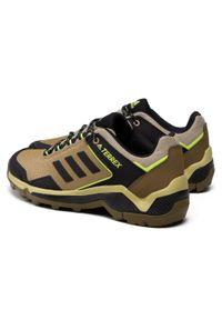 Zielone buty trekkingowe Adidas Adidas Terrex