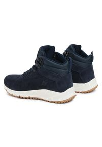 Niebieskie sneakersy 4f z cholewką