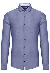 Baldessarini Koszula Henry B3 10003/000/3025 Granatowy Tailored Fit. Kolor: niebieski #4