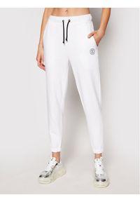Białe spodnie dresowe Rage Age