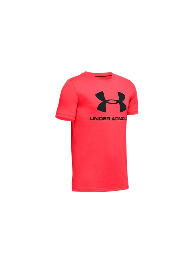 Czerwony t-shirt Under Armour