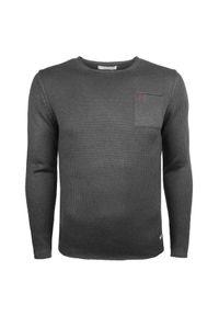 Sweter Trussardi Jeans na co dzień, z aplikacjami, casualowy