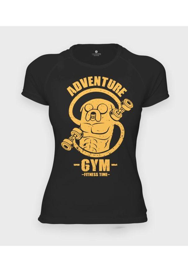 MegaKoszulki - Koszulka damska sportowa Adventure gym. Materiał: poliester