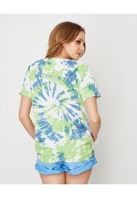 ONETEASPOON - Koszulka Broke and Famous. Kolor: zielony. Materiał: bawełna, jeans. Wzór: napisy, nadruk. Sezon: lato. Styl: vintage #2