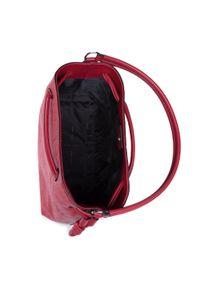 Czerwona torebka worek DKNY
