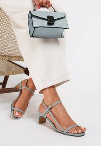 Niebieskie sandały Renee