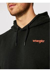 Wrangler Bluza Vibrations W680H1100 Czarny Regular Fit. Kolor: czarny
