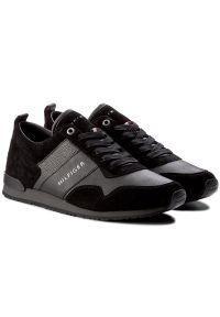 Czarne sneakersy TOMMY HILFIGER