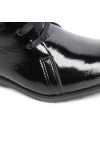 Czarne botki Eksbut na obcasie, na średnim obcasie