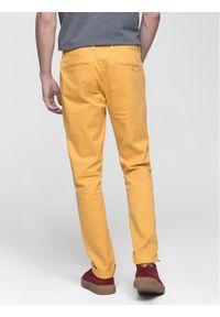 Vistula Spodnie materiałowe Flint XA0613 Żółty Regular Fit. Kolor: żółty. Materiał: materiał #5