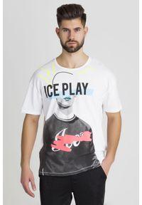 T-shirt Ice Play w kolorowe wzory