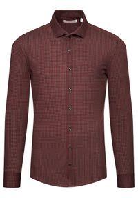 Baldessarini Koszula Keith 11001/000/0014 Bordowy Regular Fit. Kolor: czerwony