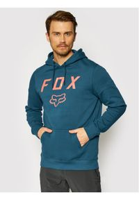 Fox Racing Bluza Legacy Moth 20555 Niebieski Regular Fit. Kolor: niebieski