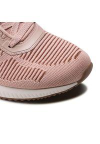 Różowe buty do fitnessu skechers