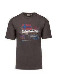 Napapijri - T-shirt NAPAPIJRI STARLIGHT. Materiał: bawełna