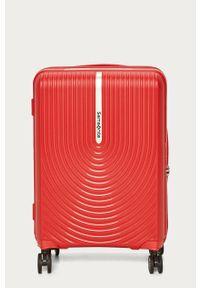 Czerwona walizka Samsonite
