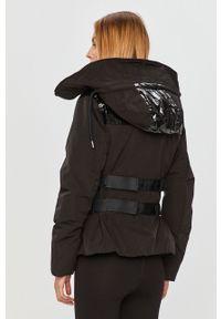 Czarna kurtka G-Star RAW z kapturem, na co dzień