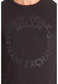 Bluza Armani Exchange długa, casualowa, z długim rękawem