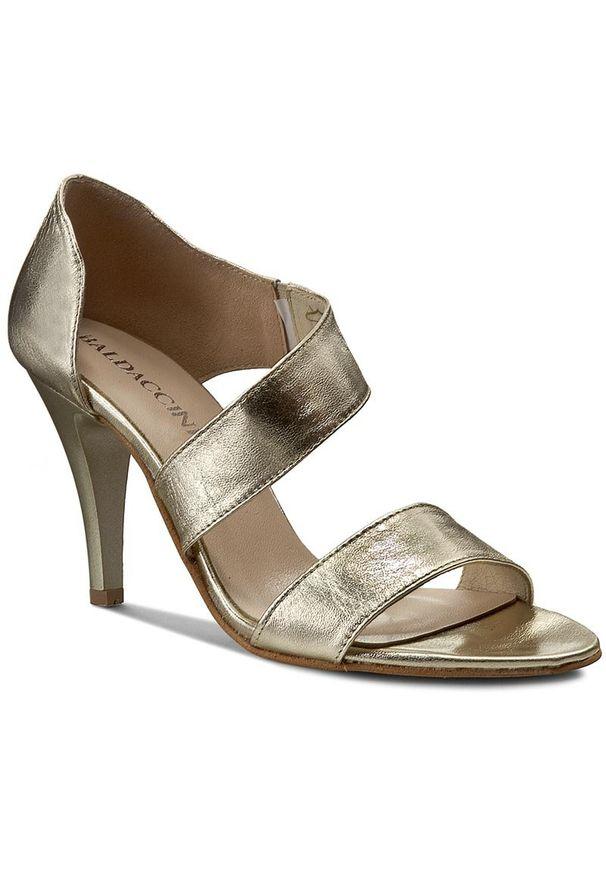 Złote sandały Baldaccini wizytowe