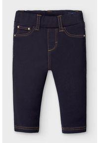 Czarne jeansy Mayoral w kolorowe wzory