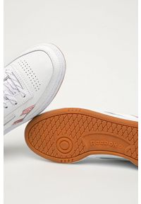 Reebok Classic - Buty skórzane Club C. Nosek buta: okrągły. Zapięcie: sznurówki. Kolor: biały. Materiał: skóra. Model: Reebok Classic, Reebok Club