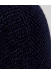 NANUSHKA - Granatowy sweter Pippa. Typ kołnierza: golf. Kolor: niebieski. Materiał: prążkowany, wełna, kaszmir. Sezon: jesień