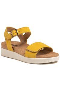 Żółte sandały Imac