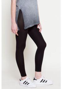 Gatta - Legginsy Leggings. Kolor: czarny. Materiał: materiał. Wzór: gładki