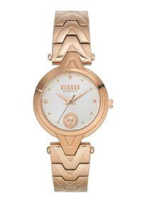 Versus Versace - Zegarek VSPVN0920. Kolor: złoty. Materiał: materiał