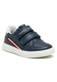 Niebieskie sneakersy TOMMY HILFIGER