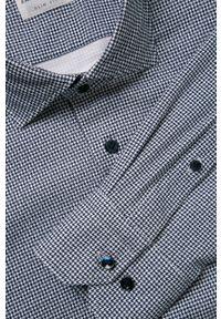 Niebieska koszula Emanuel Berg długa, z długim rękawem