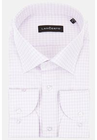 Lancerto - Koszula w Kratę Gwen. Materiał: bawełna, tkanina, jeans. Styl: klasyczny