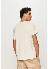 Pepe Jeans - T-shirt Dan. Okazja: na co dzień. Kolor: biały. Materiał: dzianina. Wzór: nadruk. Styl: casual