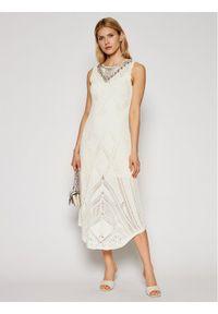 Beżowa sukienka TwinSet na lato