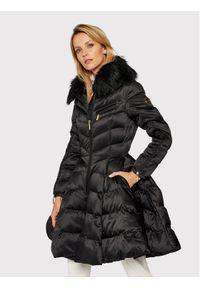 Czarna kurtka puchowa Elisabetta Franchi