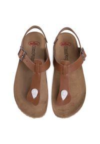 Brązowe sandały Nik #6