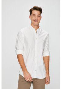 Biała koszula TOMMY HILFIGER casualowa, button down