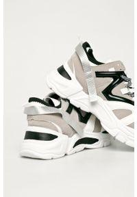 Wielokolorowe buty sportowe Truffle Collection na średnim obcasie, z okrągłym noskiem