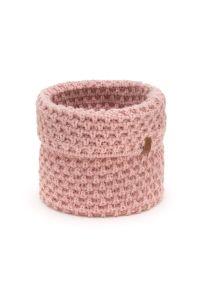 BRODRENE - Komin damski pudrowy róż k6 Brodrene 9947-ROSE. Kolor: różowy. Materiał: materiał. Sezon: jesień, zima