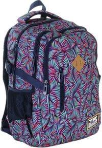 ALWAYS WILD - Plecak szkolny fioletowy Always Wild HS-13 HASH. Kolor: fioletowy. Materiał: materiał. Wzór: nadruk, aplikacja. Styl: sportowy