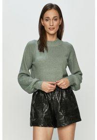 Turkusowy sweter Haily's na co dzień, casualowy, z długim rękawem