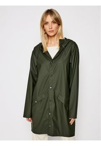 Rains Kurtka przeciwdeszczowa Unisex 1202 Zielony Regular Fit. Kolor: zielony