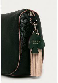 Kate Spade - Torebka skórzana. Kolor: czarny. Materiał: skórzane. Rodzaj torebki: na ramię #4
