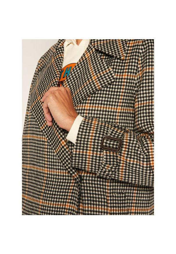 Szary płaszcz Weekend Max Mara