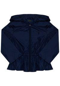 Niebieska kurtka przejściowa Polo Ralph Lauren polo