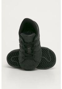 Czarne buty sportowe adidas Originals z cholewką, Adidas Superstar