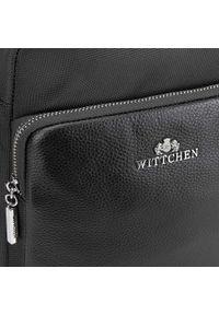 Wittchen - Torba. Kolor: czarny. Materiał: nylon #4
