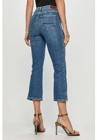 Pepe Jeans - Jeansy Regent Kick Retro. Kolor: niebieski. Styl: retro